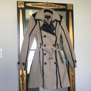 BCBGMaxAzria Madison Trench Coat